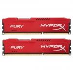 Комплект модулей памяти Kingston HyperX Fury HX318C10FRK2/8, DDR3, 8 GB