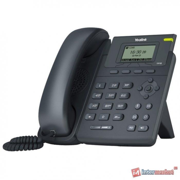 VoIP-телефон Yealink SIP-T19 E2 С БП